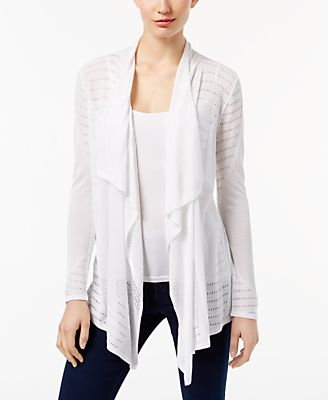 white cardigan - Shop for and Buy white cardigan Online - Macy's
