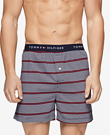 Tommy Hilfiger Men's Plaid Woven Cotton Boxers