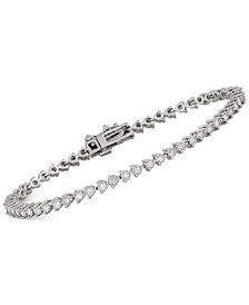 Diamond Tennis Bracelet (1 ct. t.w.) in 14k White Gold