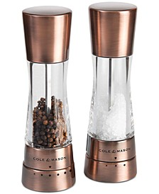Derwent Copper Salt & Pepper Grinder Set