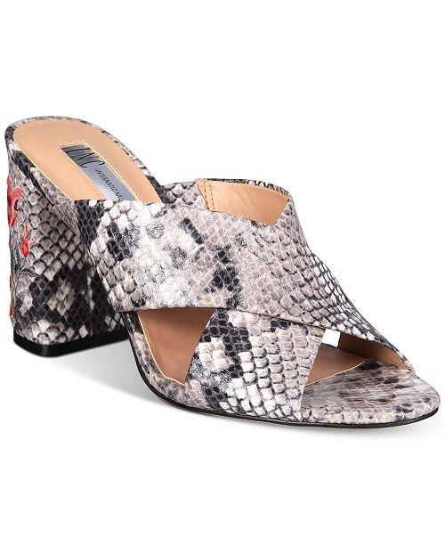 INC International Concepts I.N.C. Women's Madalyn Dress Sandals, Created for Macy's