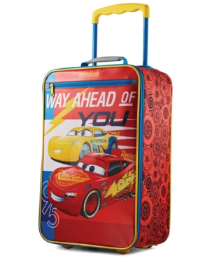 Disney Cars 18 Softside Rolling Suitcase By American Tourister