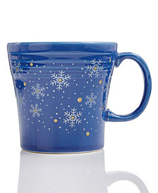 Fiesta Snowflake Tapered Mug, Created for Macy's