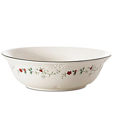 Pfaltzgraff Winterberry Round Serving Bowl