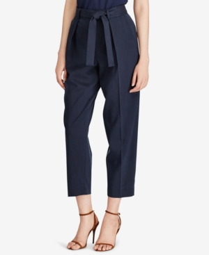 Polo Ralph Lauren Pants TWILL HIGH-RISE PANTS