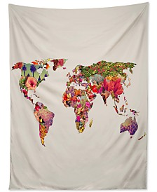 Deny Designs Bianca Green It's Your World Tapestry