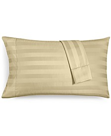 "1.5"" Stripe King Pillowcase Set, 550 Thread Count 100% Supima Cotton, Created for Macy's"