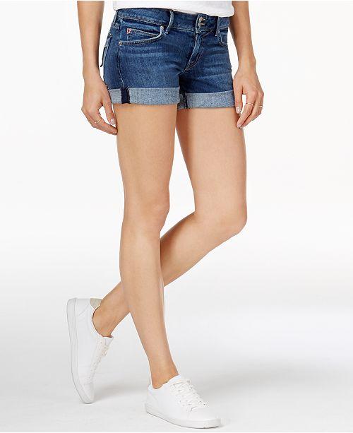 38002a7b619 Hudson Jeans Croxley Cuffed Denim Shorts & Reviews - Shorts - Women ...