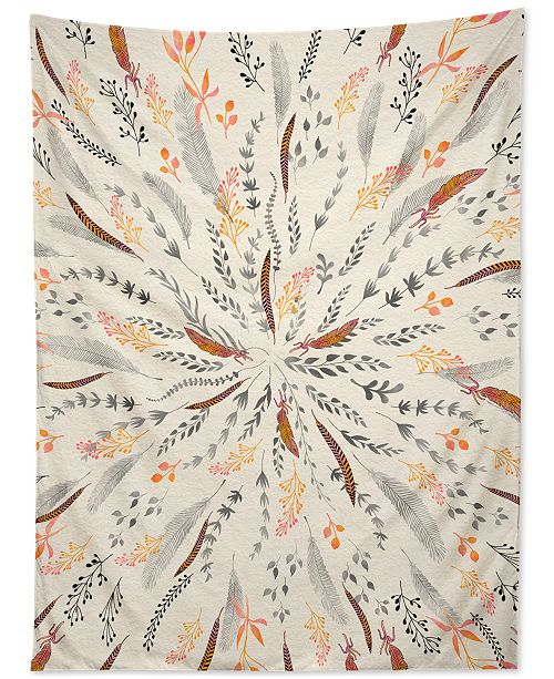 Deny Designs Iveta Abolina Feather Roll Tapestry