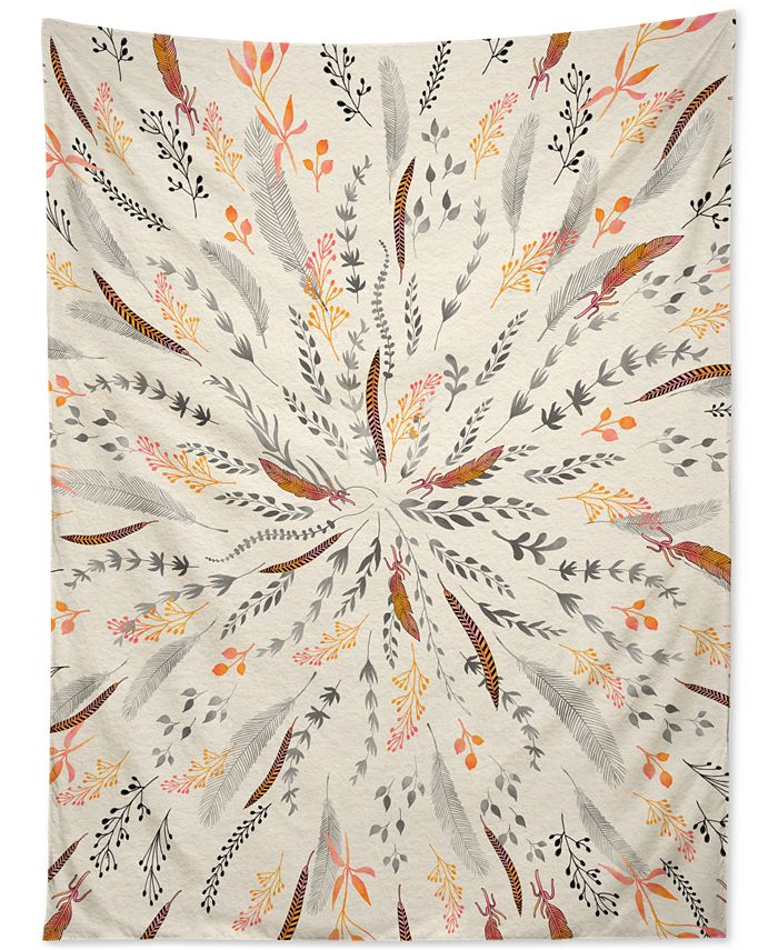 Deny Designs - Iveta Abolina Feather Roll Tapestry