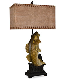 Crestview Walleye Table Lamp