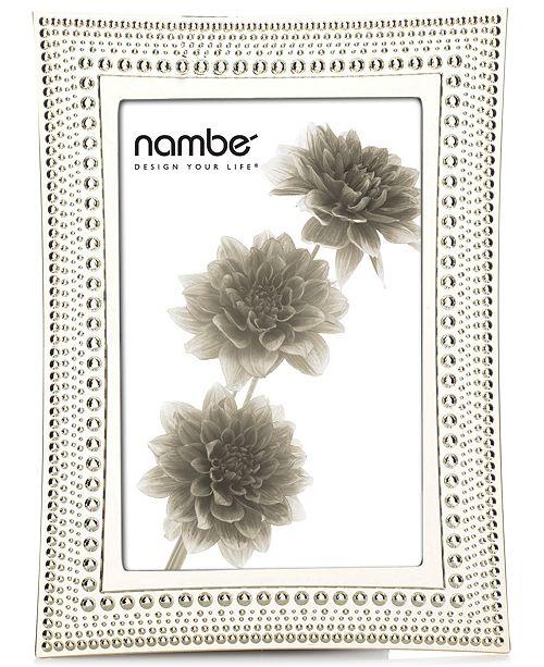 "Nambe Nambe Beaded 4"" x 6"" Frame"