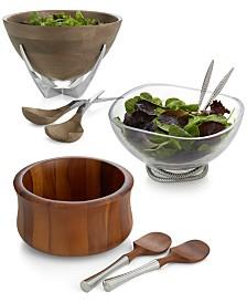 Nambé Salad Bowl Collection
