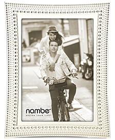 """Nambe Beaded 5"""" x 7"""" Frame"""