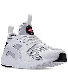 Nike Little Girls' Air Huarache Run Ultra Running Sneakers from Finish Line