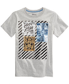 Sean John Dream Collage-Print T-Shirt, Big Boys