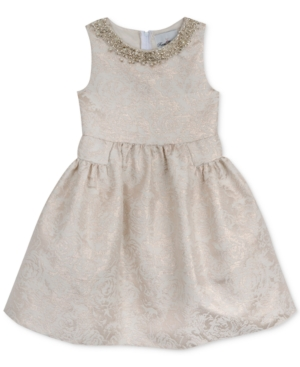 Rare Editions Embellished Neck Special Occassion Dress Toddler Girls (2T5T)