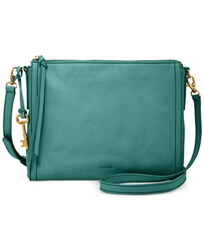 Fossil Emma East West Leather Crossbody