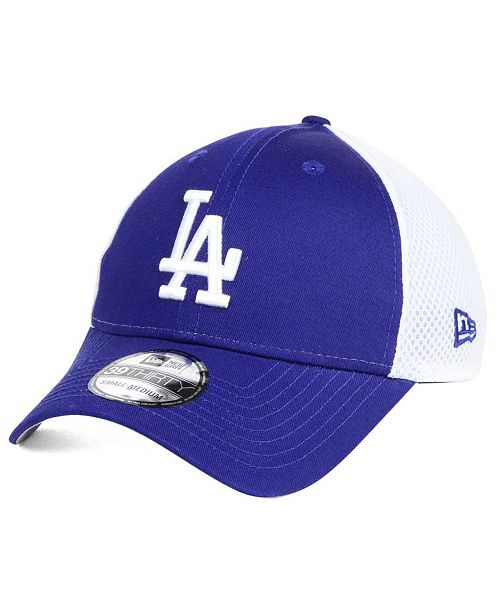detailed look 80b14 a2b4d ... New Era Los Angeles Dodgers Neo Builder 39THIRTY Cap ...