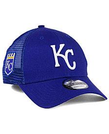 New Era Kansas City Royals Team Trucker Patch 9FORTY Snapback Cap