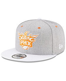 New Era Phoenix Suns White Vize 9FIFTY Snapback Cap