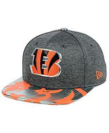 New Era Cincinnati Bengals 2017 Draft 9FIFTY Snapback Cap