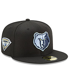 New Era Memphis Grizzlies Metallic Diamond Patch 59FIFTY Fitted Cap