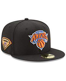 New Era New York Knicks Metallic Diamond Patch 59FIFTY Fitted Cap