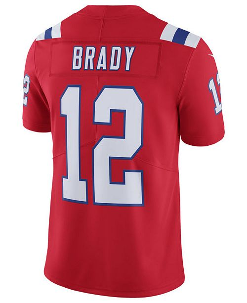 074d971f7 ... Nike Men s Tom Brady New England Patriots Vapor Untouchable Limited  Jersey ...