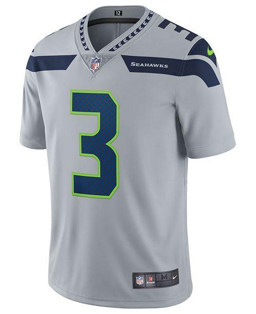 best sneakers 5efb8 34a2b Men's Russell Wilson Seattle Seahawks Vapor Untouchable Limited Jersey