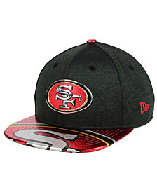 New Era Boys' San Francisco 49ers 2017 Draft 9FIFTY Snapback Cap
