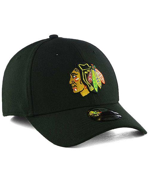 the best attitude f4346 ba644 ... New Era Chicago Blackhawks Team Classic 39THIRTY Cap ...
