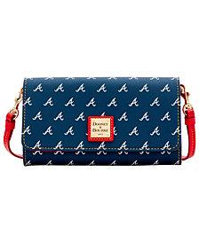 Dooney & Bourke Atlanta Braves Daphne Crossbody Wallet