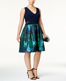 XSCAPE Plus Size Dresses - Macy\'s