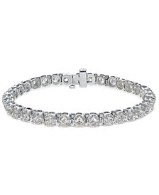 Diamond Tennis Bracelet (8 ct. t.w.) in 14k White Gold
