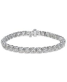 Diamond Tennis Bracelet (8 ct. t.w.) in 14k White Gold
