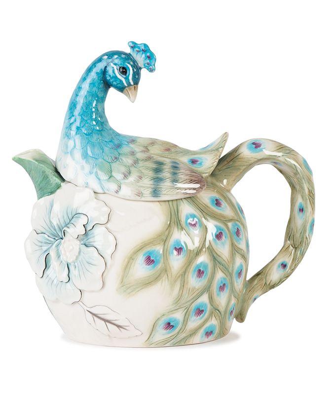 Edie Rose by Rachel Bilson CLOSEOUT! Dinnerware, Peacock Teapot