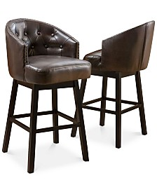 Pantan Bar Stools (Set of 2), Quick Ship