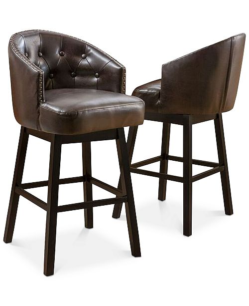 Noble House Pantan Bar Stools (Set of 2)