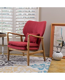 Areba Wide Frame Club Chair, Quick Ship