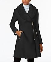 Wool Amp Wool Blend Womens Coats Macy S