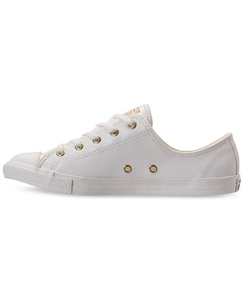 bd917277e3e ... Converse Women s Chuck Taylor Dainty Craft SL Casual Sneakers from  Finish ...