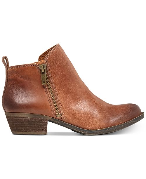 ddaec08b7858 Lucky Brand Women s Basel Booties   Reviews - Boots - Shoes - Macy s