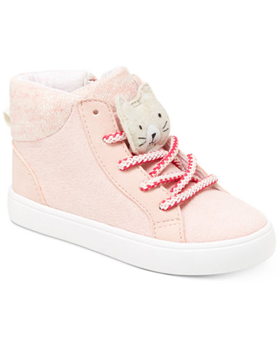 Carter's Sydney Faux-Fur High-Top Sneakers, Toddler Girls & Little Girls
