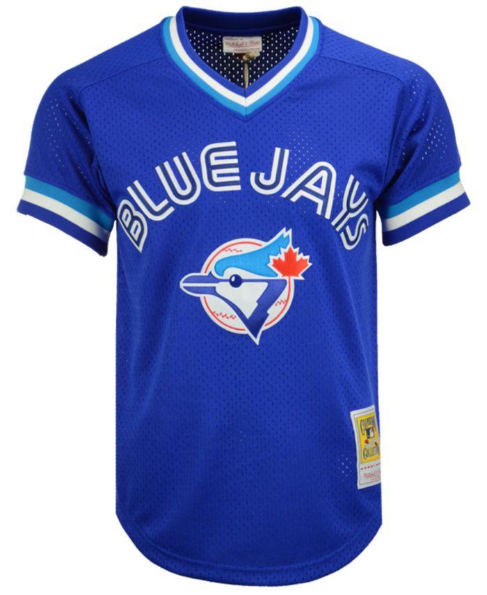 Mitchell & Ness Men's Joe Carter Toronto Blue Jays Authentic Mesh Batting Practice V-Neck Jersey  & Reviews - Sports Fan Shop By Lids - Men - Macy's