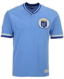 Mitchell & Ness Men's Kansas City Royals Coop Overtime Vintage Top