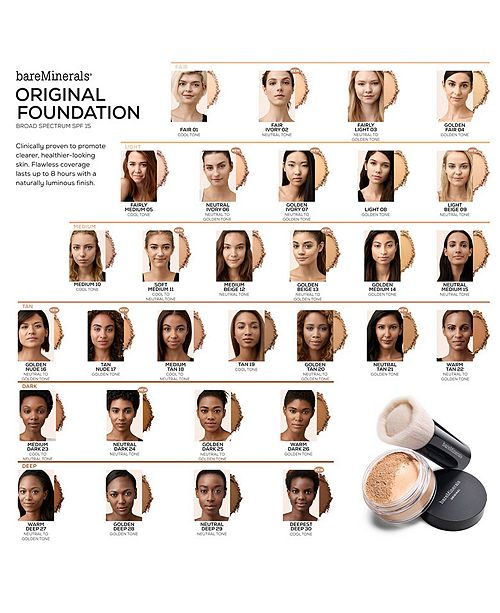 Original Loose Powder Foundation SPF 15 by bareMinerals #6