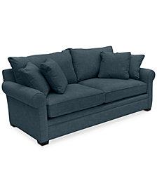 "Dial II 89"" Sofa with 4 Toss Pillows"