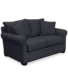 Black Fabric Sofas & Couches - Macy\'s