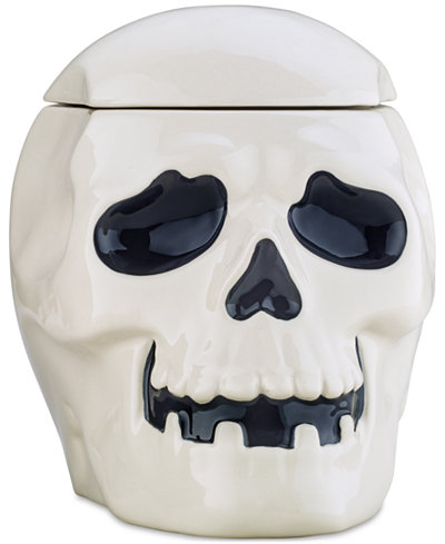 Martha Stewart Collection Skull Cookie Jar, Created for Macy's